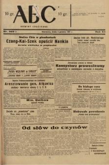 ABC : nowiny codzienne. 1937, nr388 A |PDF|