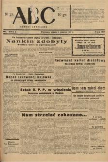 ABC : nowiny codzienne. 1937, nr392 A |PDF|