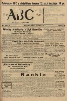 ABC : nowiny codzienne. 1937, nr393 A |PDF|