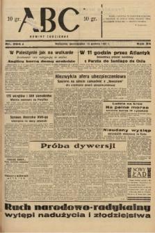 ABC : nowiny codzienne. 1937, nr394 A |PDF|
