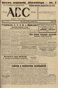 ABC : nowiny codzienne. 1937, nr[399] A [ocenzurowany] |PDF|