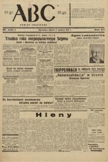 ABC : nowiny codzienne. 1937, nr403 A  PDF 