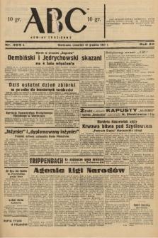 ABC : nowiny codzienne. 1937, nr405 A |PDF|