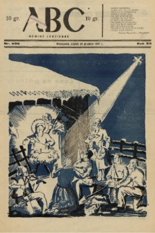 ABC : nowiny codzienne. 1937, nr406 A |PDF|