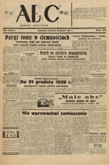 ABC : nowiny codzienne. 1937, nr410 A |PDF|