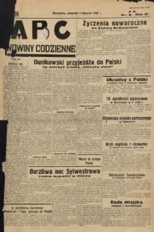 ABC : nowiny codzienne. 1936, nr2 |PDF|