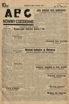 ABC : nowiny codzienne. 1936, nr3 |PDF|