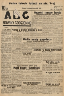 ABC : nowiny codzienne. 1936, nr5 |PDF|