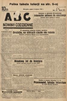 ABC : nowiny codzienne. 1936, nr9 |PDF|