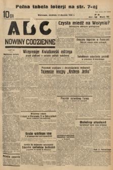ABC : nowiny codzienne. 1936, nr12 |PDF|