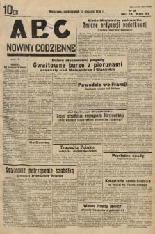 ABC : nowiny codzienne. 1936, nr13 |PDF|