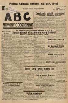 ABC : nowiny codzienne. 1936, nr14 |PDF|