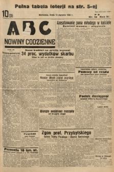 ABC : nowiny codzienne. 1936, nr15  PDF 