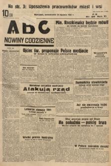 ABC : nowiny codzienne. 1936, nr20 |PDF|