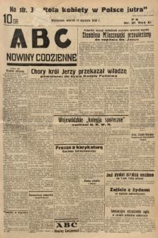 ABC : nowiny codzienne. 1936, nr21  PDF 
