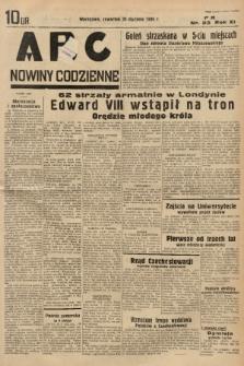 ABC : nowiny codzienne. 1936, nr23 |PDF|