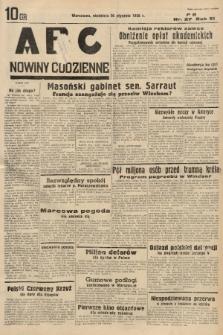 ABC : nowiny codzienne. 1936, nr27 |PDF|
