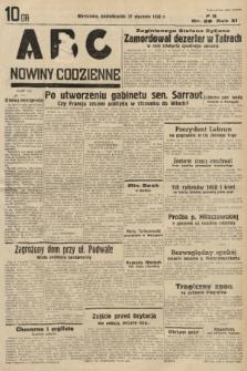 ABC : nowiny codzienne. 1936, nr28 |PDF|