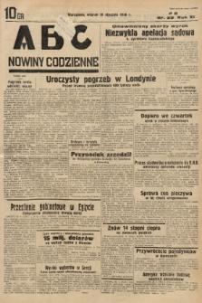 ABC : nowiny codzienne. 1936, nr29 |PDF|