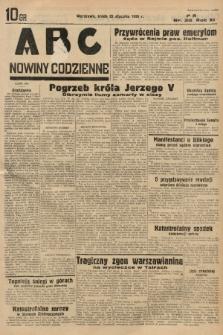 ABC : nowiny codzienne. 1936, nr30 |PDF|