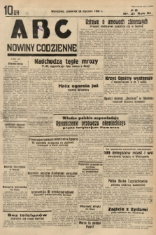 ABC : nowiny codzienne. 1936, nr31 |PDF|
