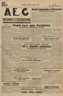 ABC : nowiny codzienne. 1936, nr33  PDF 