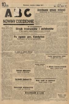 ABC : nowiny codzienne. 1936, nr34  PDF 