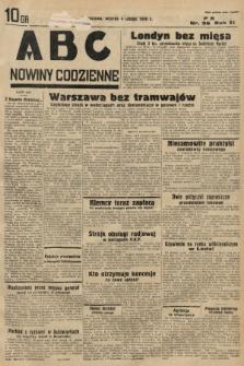 ABC : nowiny codzienne. 1936, nr36 |PDF|