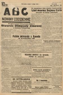 ABC : nowiny codzienne. 1936, nr39 |PDF|