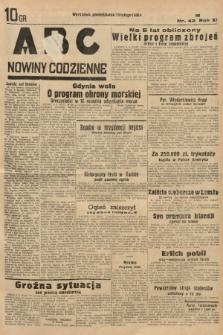 ABC : nowiny codzienne. 1936, nr42 |PDF|