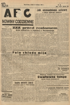 ABC : nowiny codzienne. 1936, nr44 |PDF|