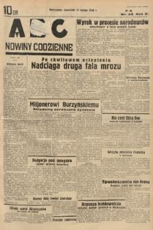 ABC : nowiny codzienne. 1936, nr45 |PDF|