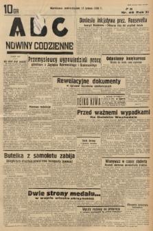 ABC : nowiny codzienne. 1936, nr49 |PDF|