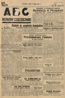 ABC : nowiny codzienne. 1936, nr51 |PDF|