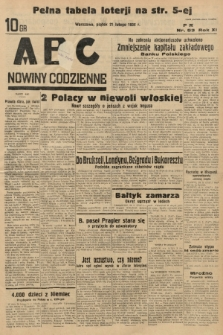 ABC : nowiny codzienne. 1936, nr53 |PDF|
