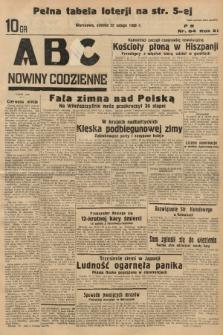 ABC : nowiny codzienne. 1936, nr54 |PDF|