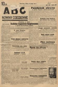 ABC : nowiny codzienne. 1936, nr61  PDF 