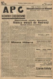 ABC : nowiny codzienne. 1936, nr70 |PDF|