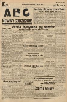 ABC : nowiny codzienne. 1936, nr71 |PDF|