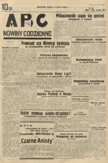 ABC : nowiny codzienne. 1936, nr75 |PDF|