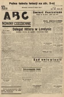 ABC : nowiny codzienne. 1936, nr81  PDF 