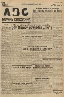 ABC : nowiny codzienne. 1936, nr85 |PDF|