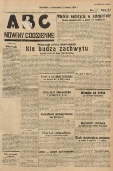ABC : nowiny codzienne. 1936, nr87 [ocenzurowany]  PDF 