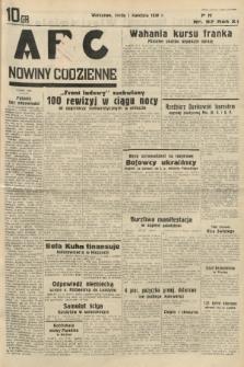 ABC : nowiny codzienne. 1936, nr97 |PDF|