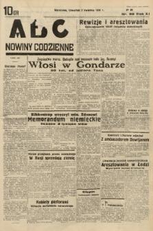 ABC : nowiny codzienne. 1936, nr98 |PDF|