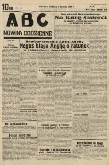 ABC : nowiny codzienne. 1936, nr101 |PDF|