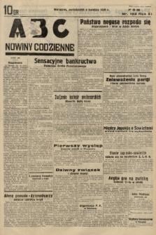 ABC : nowiny codzienne. 1936, nr102 |PDF|