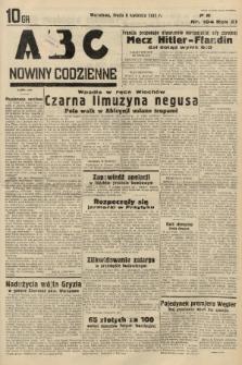 ABC : nowiny codzienne. 1936, nr104 |PDF|