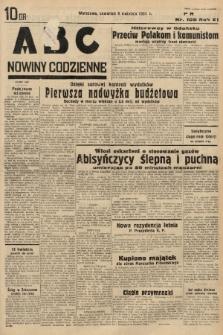 ABC : nowiny codzienne. 1936, nr105 |PDF|