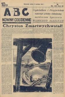 ABC : nowiny codzienne. 1936, nr107  PDF 